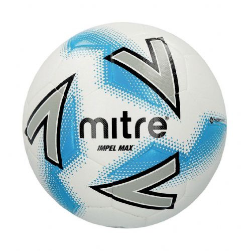 Mitre Impel Max Training Ball - White/Silver/Blue